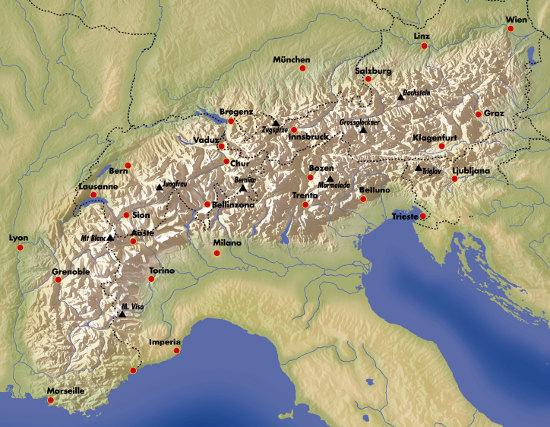 Wandern Auf Der Via Alpina Willkommen
