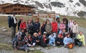 Destination Refuges 2008 – The School of Gap-Romette at the Col Agnel mountain hut (www.laligue-alpesdusud.org)